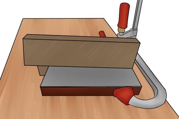 How to sharpen a gooseneck cabinet scraper?