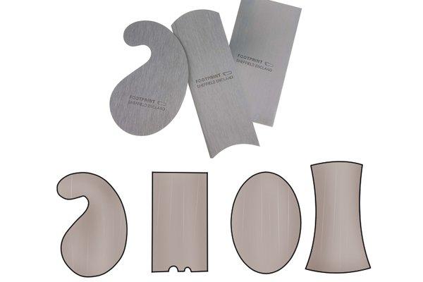 Cabinet scrapers, set of scrapers, oval, square, concave, convex, gooseneck, scraping, woodwork, DIYer, carpenter.