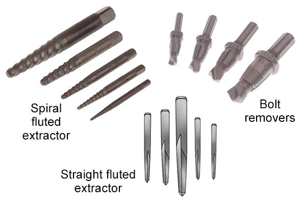 What Are The Different Types Of Screw And Bolt Extractor Wonkee Donkee Tools
