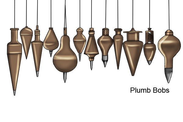What are the parts of a plumb-bob?