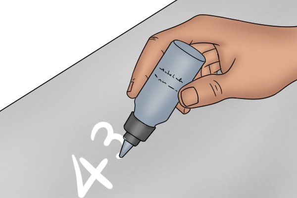 Carpenter's pencil, pencil, marker, permanent marker, sharpener, crayon, marking out tools, wonkee donkee tools DIY guide