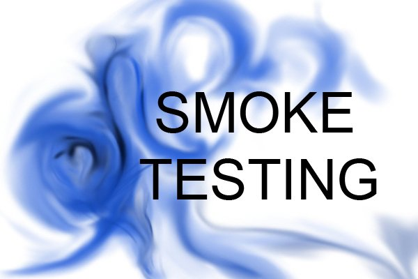 smoke testing sign, smoke testers, smoke pellets, plumbing smoke test