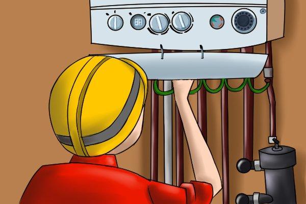 household boiler, testing a boiler flue, smoke test
