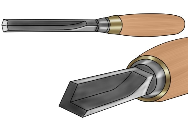 What are the different types of wood chisel?
