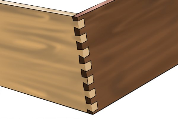 How To Cut A Dovetail Joint With A Wood Chisel