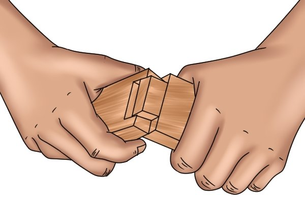 how to make a dovetail joint step by step