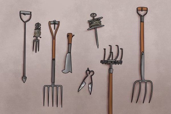 Garden forks come in a variety of shapes and sizes.