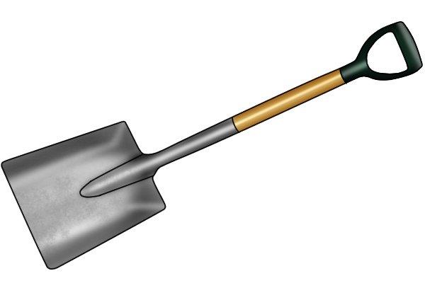 A blade made from aluminium