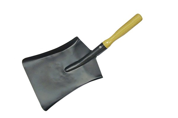 A typical coal shovel for the home
