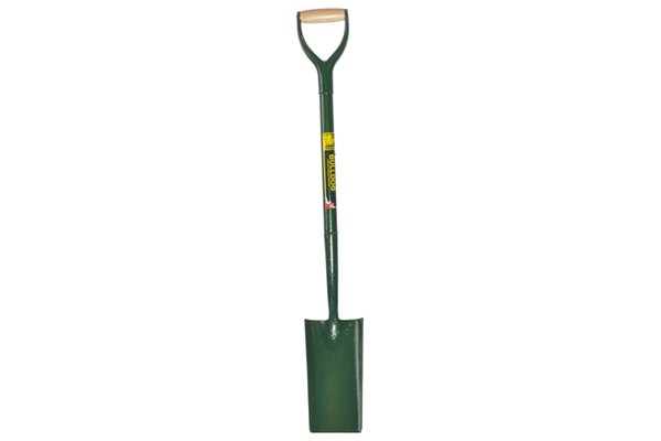 Used for digging narrow trenches for laying cable and pipes
