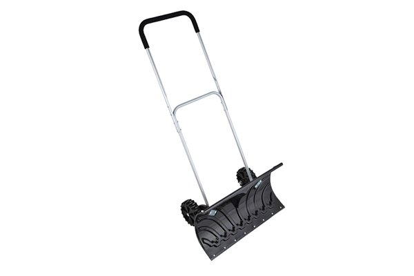 Clear snow from your driveway with a snow pusher!