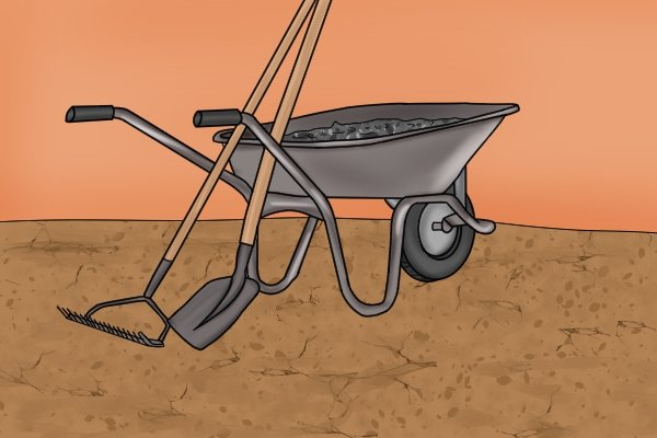 The volume of soil may be more than you think – the deeper you dig, the larger the pile!