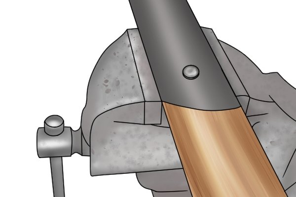 A rivet is a permanent mechanical fastener compared to a screw