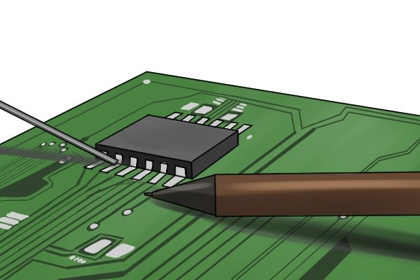 Electronic soldering connects electrical wiring and electronic components to printed circuit boards (PCBs).