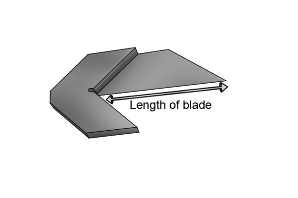 The size of a centre square is determined by the length of its blade. The blades of centre squares are usually either 38mm or 75mm long. Larger squares do exist but are harder to come across.