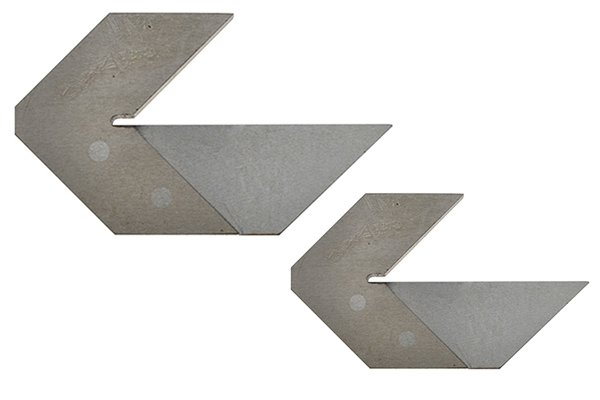 Centre squares are available in a number of sizes.