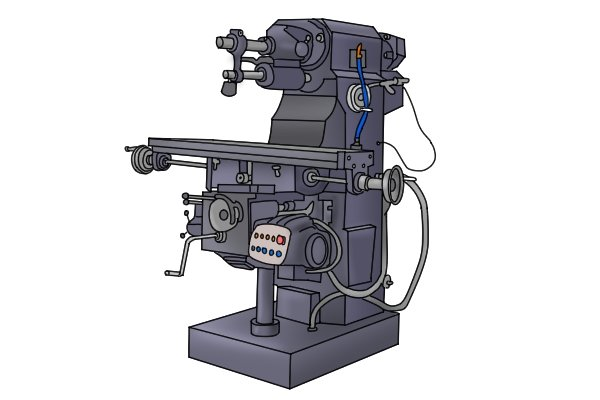 If you have access to a milling machine or a drill press, there are a couple of other devices that can be mounted onto the spindle and used to find the centre of parts.