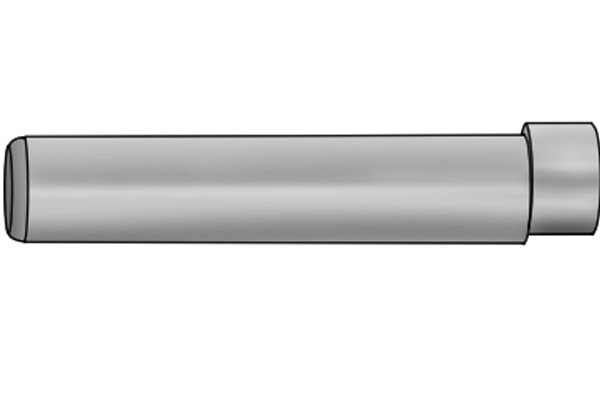 The shank is the main body of the edge finder. When using the edge finder, it is important to note the diameter of the shank. This is because the diameter of the shank must be compensated for after the edge of a part is located.