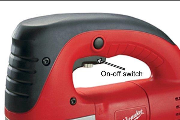 Jigsaw on-off switch, jigsaw trigger switch