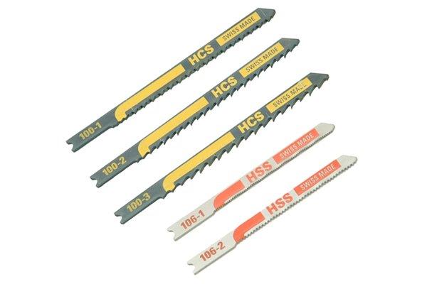 Set of jigsaw blades