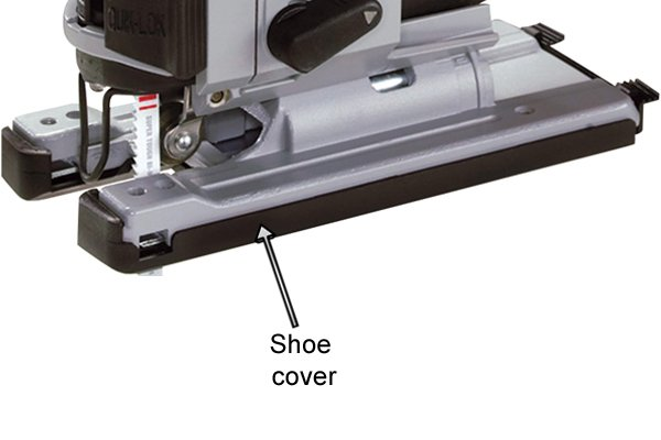 Jigsaw shoe cover, baseplate cover
