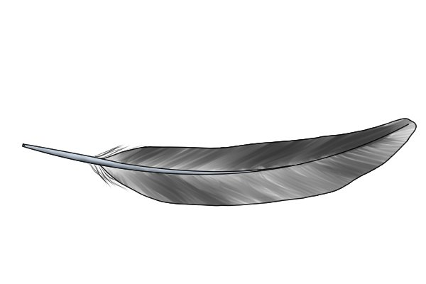 Feather, lightweight, feather-light