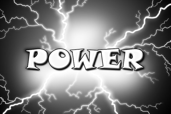 Power; watts; electricity