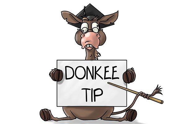 Wonkee Donkee top tip; WD top tip