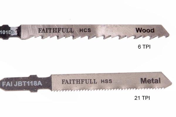 What are the different types of jigsaw blade jigsaw blades with 6 tpi and 21 tpi wood blade and metal blade keyboard keysfo Gallery