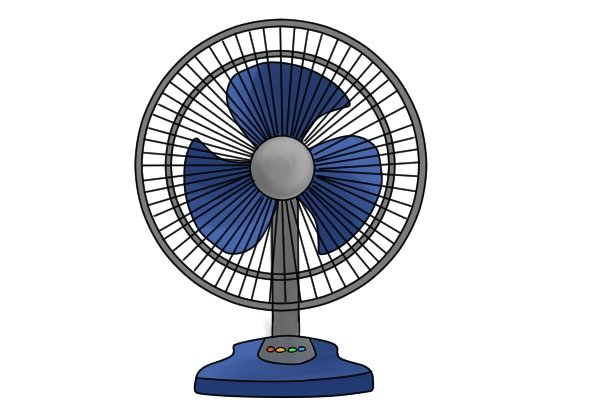Fan, cooling down, ventilation