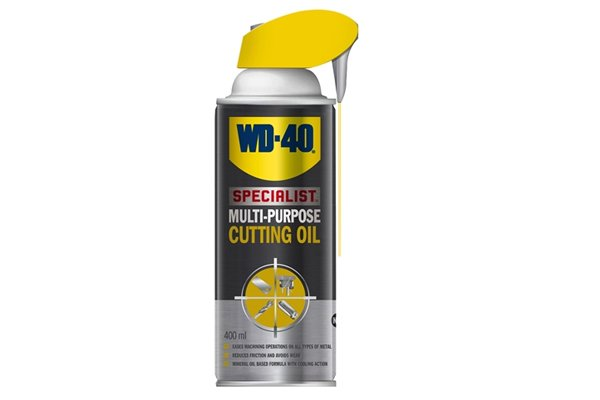 Cutting oil, WD 40 specialist cutting oil, coolant, lubricant