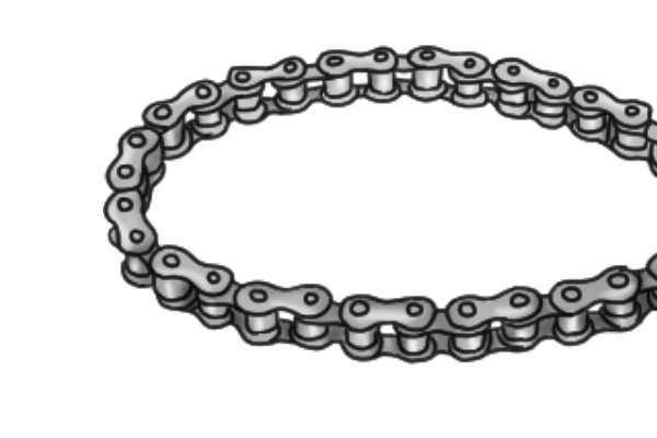In addition, high-tensile steel is light-weight and resistant to corrosion, providing the chain with longer life.