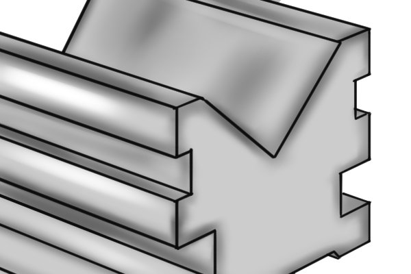 Workpieces are cradled in the v-shaped channel of the vee block, which supports the part during machining. The v-groove is central, parallel and square with all surfaces of the block. Most vee blocks have channels of 90⁰. However there are some vee blocks with angles of 60⁰ that are suitable for use with very small parts.