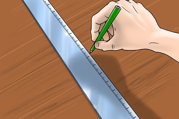 measuring with a feather edge