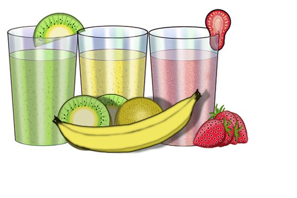 fruit smoothies, not smoothing plaster