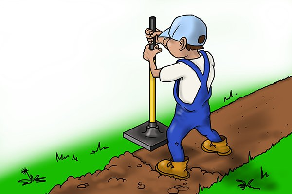 tamping soil