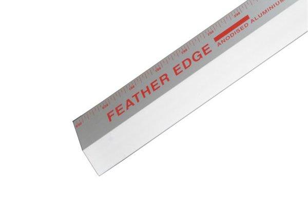 anodised aluminium used to make feather edge tool