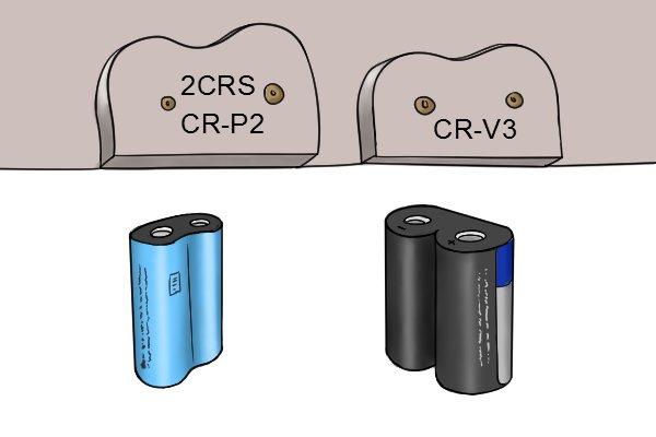 other battery slits on a digital battery tester