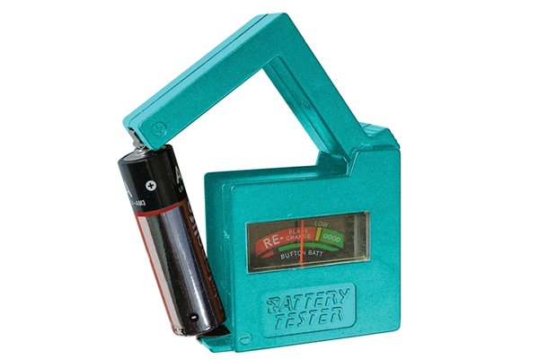 Household Battery Tester : What are the different types of household battery