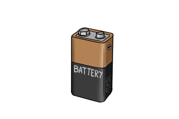 square 9v batteries