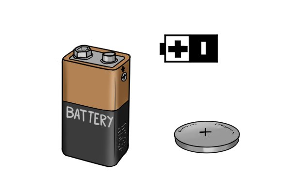 positive and negative on batteries