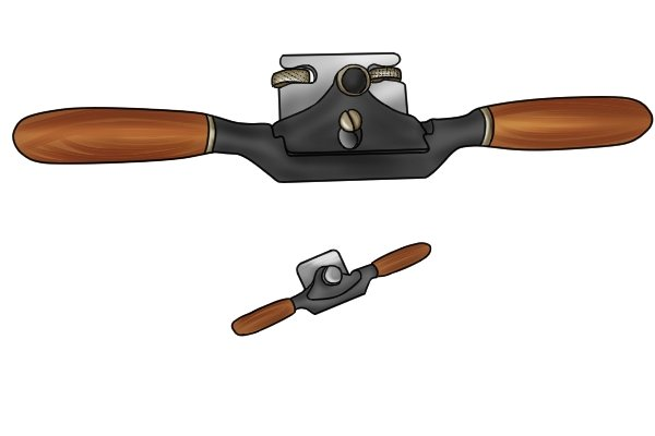 regular and miniature spokeshave