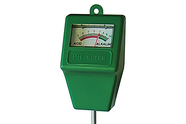 pH tester scale analogue