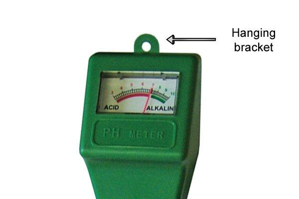 pH meter hanging bracket