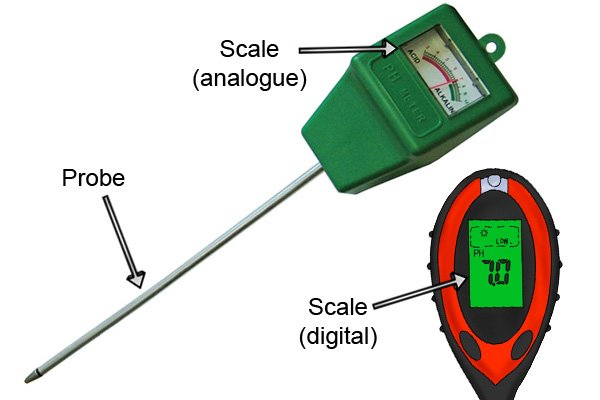 What Are The Parts Of A Soil Ph Meter
