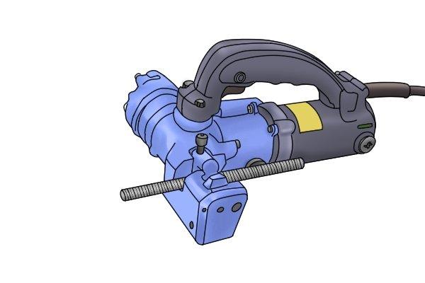 powered threaded rod cutter