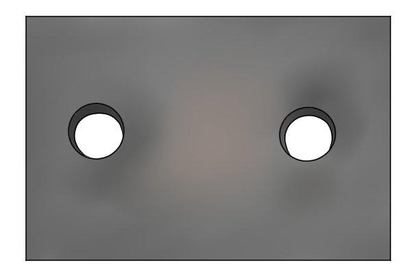 misaligned bolt holes, unaligned bolt hole, bolt hole, bolt hole out of alignment,
