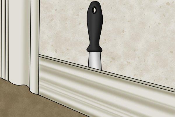 Chisel knife, chisel blade, knife, knife blade,