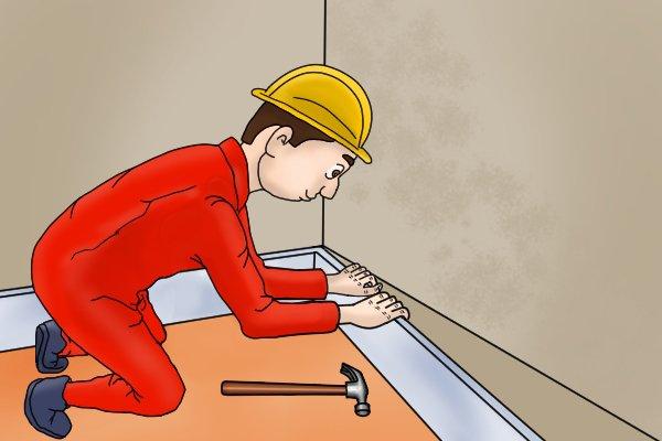 remove trim, remove trim by hand,