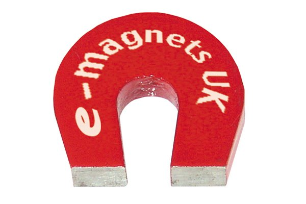 magnet, finding hidden nails, red magnet, horseshoe magnet, red horseshoe magnet, horse shoe magnet